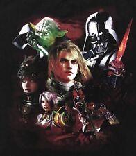 Soul Calibur IV Yoda Darth Vader Black Promo T Shirt Size XL Collectable