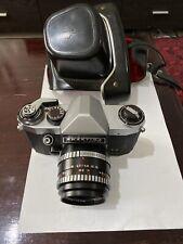 Vintage Praktica Super TL 35mm SLR Camera Oreston 1.8/50mm Lens  Pentacon