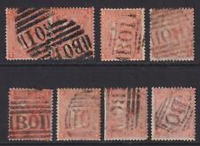 GREAT BRITAIN USED ABROAD - EGYPT BO1 PLATES 7 8 9 10 11 12 14 - T470