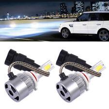 2 x 9005 LED 36W 3800LM 6000K Combo Headlight High Low Beam White Bulb