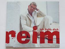 """Matthias Reim   Ich liebe Dich   2 Track 5"""" Promo Maxi - CD   2003  ultra rar!!!"""