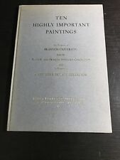Ten Highly Important Paintings 1968 Brandeis University Catalog