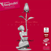 Naughty Girl Unpainted Resin Kits Model GK Figurine YuFan 55mm