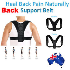 Posture Clavicle Support Corrector Back Straight Shoulders Brace Strap AU