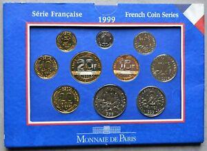 Coffret Fleur de Coin (FDC) FRANC 1999 (10 pièces) - France
