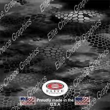 "Chameleon Hex Black CAMO DECAL 3M WRAP VINYL 52""x15"" TRUCK PRINT REAL CAMOUFLAGE"