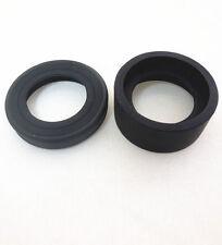 36mm Diameter Microscope Telescope Foldable Rubber Eye Guards Eye Shield Cups