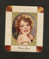 CLARA BOW CARD GARBATY  COLLECTION ROSS GREAT PHOTO EMBOSSED