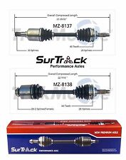 Mazda 6 2003-2004 3.0L V6 FWD Pair of Front CV Joint Axle Shafts SurTrack Set