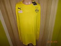Borussia Dortmund Puma Langarm Spieler Rohling Training Trikot Gr.XL Neu