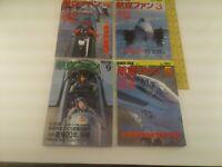 KOKU-FAN, March, April, May, Sep. 1992 #471,472,473,477,F-14 Tomcat,