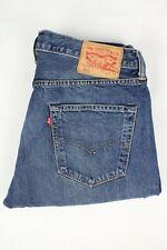 Mens Vintage LEVIS 501 Denim Jeans W34 L30 Regular Straight Leg Blue