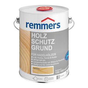 Remmers Holzschutzgrund 5 Liter Grundierung Bläueschutz Fäulnisschutz
