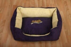 "Snoozzzeee Dog Sofa Bed Purple 23"""