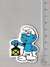 Aufkleber/Sticker Schlumpf Smurf Laternenschlumpf  ©´78/S.E.P.P.