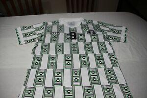 T-Shirt Retro Selection Nigeria World USA 1994 Brand Adidas T/XL No 9 Yekini