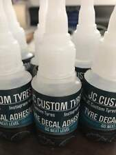 Tyre Letter Decal Adhesive (1 x bottle)