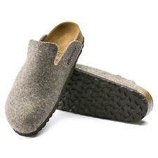 Birkenstock Davos normal Wolle cacao Hausschuhe Clogs Pantoffeln 1011224