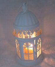 1X White Hanging Candle Lantern Wedding Decoration 27cm