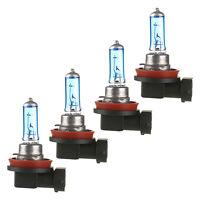 4 x H11 6000K Xenon Gas Halogen Headlight White Light Lamp Bulbs 55W 12V