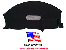 1997-2002 Chevy Camaro Black Carpet Dash Cover Mat Pad CH64-5 Made in the USA