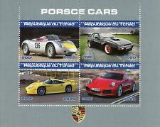 Chad Cars Stamps 2020 CTO Porsche Motoring Transport 4v M/S