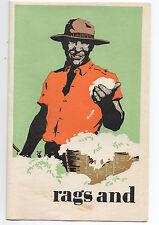 1920s Advertising Brochure Blake Moffitt & Towne with Black Americana graphics