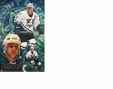 ESTATE FIND NO PINHOLES NOS MINT 1998 PAUL KARIYA ANAHEIM MIGHTY DUCKS POSTER