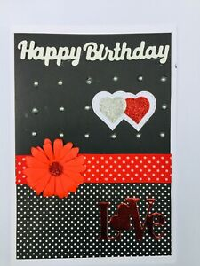 Handmade Male Female BIRTHDAY CARD Lovely Verse Greeting Card For Girl Or Boy