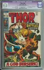 THOR #166 CGC 9.0 OW/WH PAGES R