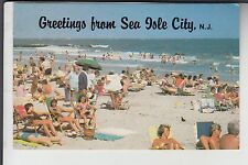 Beach Greetings from Sea Isle City  NJ