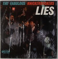 THE KNICKERBOCKERS: Lies USA Challange Fabulous Garage OG Mono SHRINK LP NM-