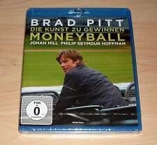 Blu Ray - Moneyball - Die Kunst zu gewinnen - Brad Pitt - Jonah Hill - Neu OVP