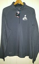 NFL Super Bowl Nike Jersey Zip Pullover Baselayer: XL (NWT)