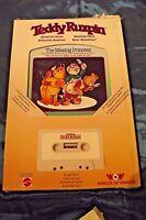 Teddy Ruxpin THE MISSING PRINCESS Book & Tape cassette
