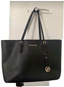 Large, Black Michael Kors tote, handbag