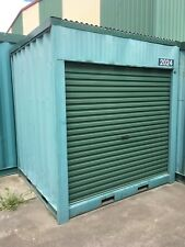 USED 2m long / 2.43m wide 2.6m High shipping container / Portable storage shed
