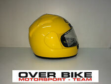CASCO INTEGRALE MOTO PISTA STRADA SUOMY GUN WIND MONO YELLOW GIALLO  TAGLIA XL