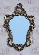 Espejo de pared Dorado Negro Barroco ROCOCO Nouveau Del Arte 50x76