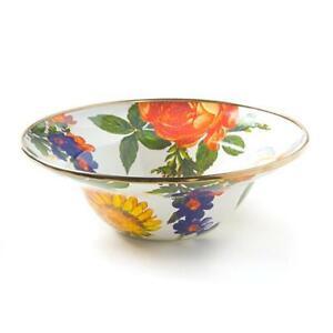 MacKenzie-Childs Flower Market Breakfast Bowl - White