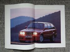 BMW 3er E30 Touring 325iX Prospekt 1990 Brochure Deutsch German