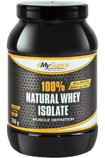 (37,32 ? / kg) My Supps 100% Natural Whey Isolate 100% CFM - 750g