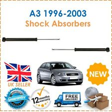 For Audi A3 1996-2003 2 Rear Shock Absorbers Set Shockers Dampers Pair New