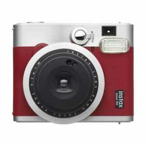New Fujifilm Instax Mini 90 NEO Classic Instant Camera - Red