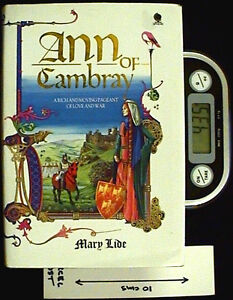 Ann of Cambray - HB by Mary Lide