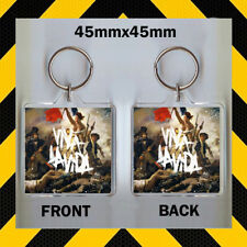 COLDPLAY - VIVA LAVIDA - CD COVER KEYRING