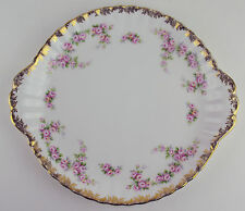Cake Serving Plate Platter Royal Albert Dimity Rose vintage bone china England