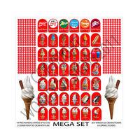 ice cream van sticker THE ULTIMATE MEGA SET