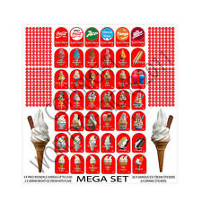 ice cream van sticker THE ULTIMATE MEGA SET
