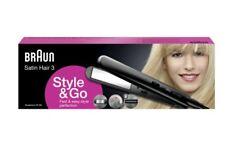Braun Satin Hair 3 Haarglätter ST300 Style&Go, Glätteisen für unterwegs